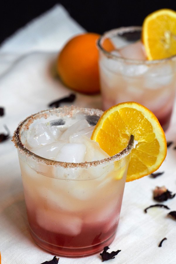 Hibiscus Orange Margarita Recipe